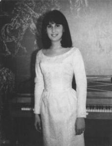 Zoe Greenberg College in 1966