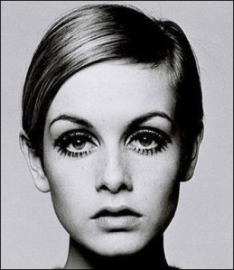Twiggy epitomized the 60's look