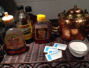 A host of sweeteners in my pantry